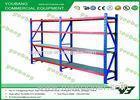 4 Layers Medium Duty Metal Warehouse Storage Racks height adjustable