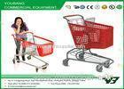 Children shopping trolley / shopping cart with baby seat , 5'' inch PU wheels