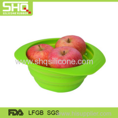 100% food grade flexible silicone leakage basket