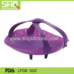 Food grade flexible silicone fruit basket