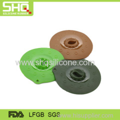 Eco-friendly silicone pot cover lid