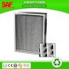 SAF Glass Fiber Aluminum Separator Heat Resistant HEPA Filter