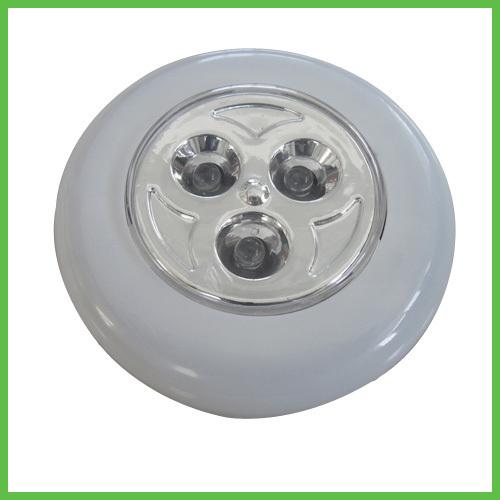 Small Round 3 LED wall stick Night Light