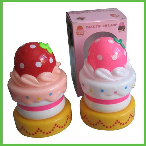 Creative Cake Ice Cream Push Light Night Light