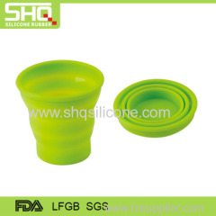 Eco-friendly silicone drinking cup
