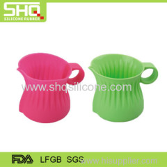 Food grade milk silcione drinking cup