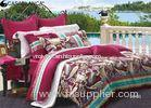 Hotel durable Sateen Bedding Sets Combed Cotton Fabric for Adult
