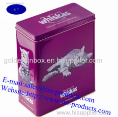 Different Tin boxes from Goldentinbox.com