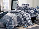 Simple Pattern Floral Bedding Sets Reactive Printing , Duvet Cover Sets