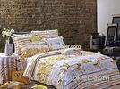 Happy Banana Floral Bedding Sets Reactive Dyeing with Soft Hand Felling