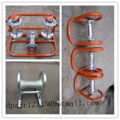 Cable rolling TUBE ROLLERS Corner roller