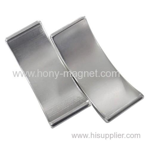 motor neodymium arc segment magnets