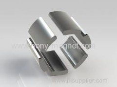 Strong arc shape n42 neodymium magnets
