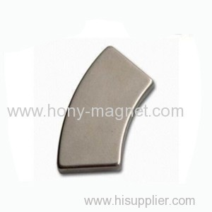 Motor Ndfeb Magnet Different Arc Shapes