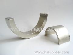 Arc segment motor magnet / wind turbine magnet