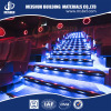 Modern style cinema non slip luminous aluminum stair edging