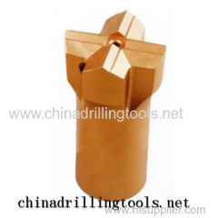 Mining Machinery Parts- Thread cross drilling bits