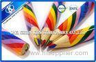 Painter Professional Wooden Rainbow Color Pencil Yellow / Red / Blue / Green 4 Colour