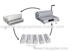 A3 size mould punching machine for notebook and calendar