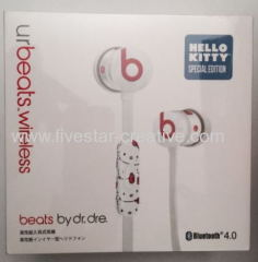 New Hello Kitty UrBeats Bluetooth 4.0 Beats by Dr.Dre Special Edition In Ear Stereo Headset Earphones Limited
