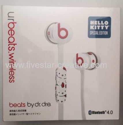 59fe20e09ea New Hello Kitty UrBeats Bluetooth 4.0 Beats by Dr.Dre Special Edition In  Ear Stereo