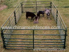 Painting Tubular Goat Pens Panel