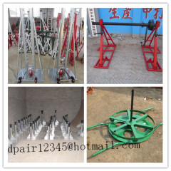 Hydraulic cable drum jack Hydraulic lifting jacks for cable drums