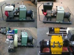 Cable Drum WinchCable pulling winchcable feeder