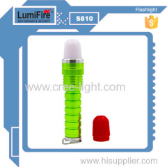 2015New LumiFire S810 3Watt CREE Xp-e LED Zoom In/out 18650 li-ion battery led camping lantern with Red/White light