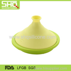 Food grade kitchenware collapsible silicone pot