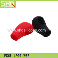 Car gear shift knob silicone cover