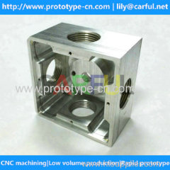 China cnc machined aluminum parts accept small order