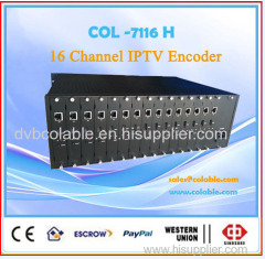 iptv solution hdmi h.265 encoder for WOWZA server