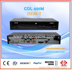 HD ISDB-T set top box Free to Air