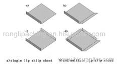 2 lips paper slip sheet from Factory