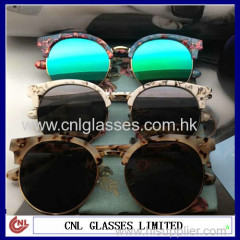 Hot sale novelty metal sunglass china wholesale market