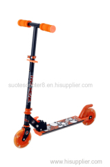 2 wheel foldable foot scooter / 125mm wheel kick scooter/ children scooter