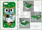 Shockproof Mobile Phone Case Cover Custom Owl Phone Cases For iPhone 5 / 5S