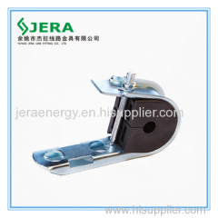 Support clamp for ADSS.