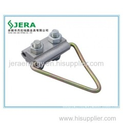 Support clamp for remote carrier element type