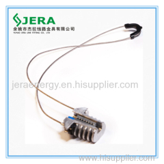 Cable clips with remote carrier element type
