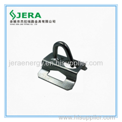 Bracket supporting clamps for FOC Steel Insulated Wires