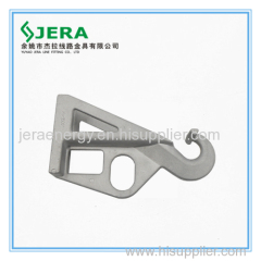 Bracket. Designed for the suspension elements of cable fittings on poles.