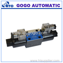 4 Way 3 Position Hydraulic Solenoid Directional Valves