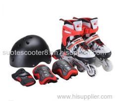 adjustable inline skate/roller skate / flashing roller skating