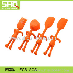 Food grade child silicone dinner sets