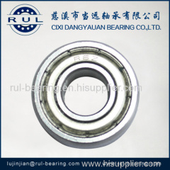 inch deep groove ball bearings
