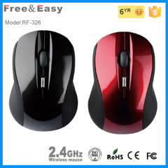 New 2.4g receiver driver mini wireless usb pc mouse