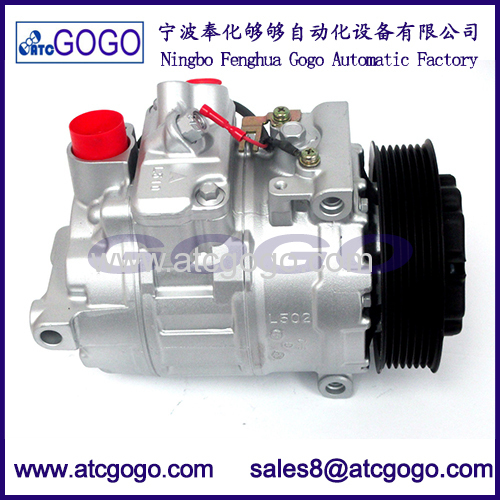 New 7SEU16C A/C Compressor for Mercedes-Benz 2001-2009 OEM 97394 0002306511