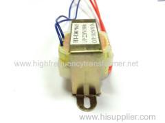 Power EI transformer from 1.5VA to 500VA EI step down current transformer 220VAC 24VAC 40W